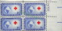 Марка Red Cross Issue United States Postage